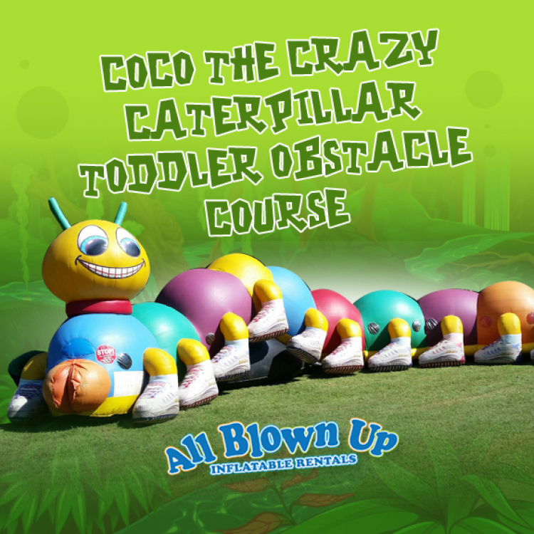 CoCo The Crazy Caterpillar Toddler Obstacle Course