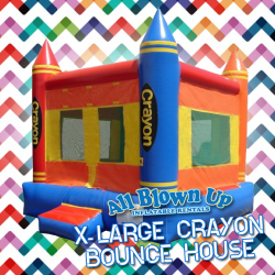 X-Large Crayon Bounce House