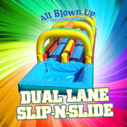 Dual Lane Slip-N-Slide
