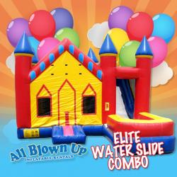 Elite Water Slide Combo