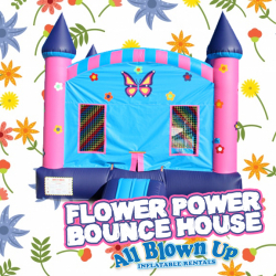 Flower Power Bounce House