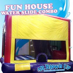 Fun House Water Slide Combo