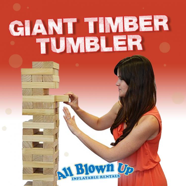 Giant Timber Tumbler