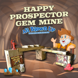 Happy Prospector Gem Mine without Operator
