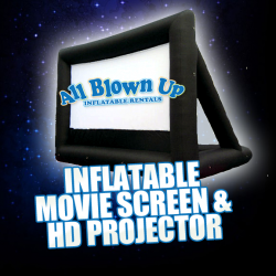 Inflatable Movie Screen & HD Projector