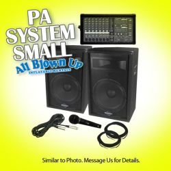 PA System, Small
