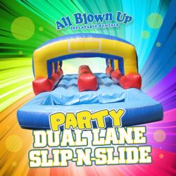 Party Dual Lane Slip-N-Slide