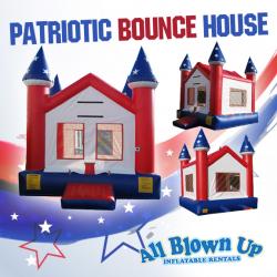 Patriotic Bounce House