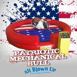 Patriotic Mechanical Bull