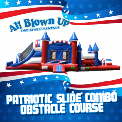 Patriotic Slide Combo Obstacle Course
