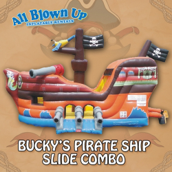 Bucky's Pirate Ship Slide Combo