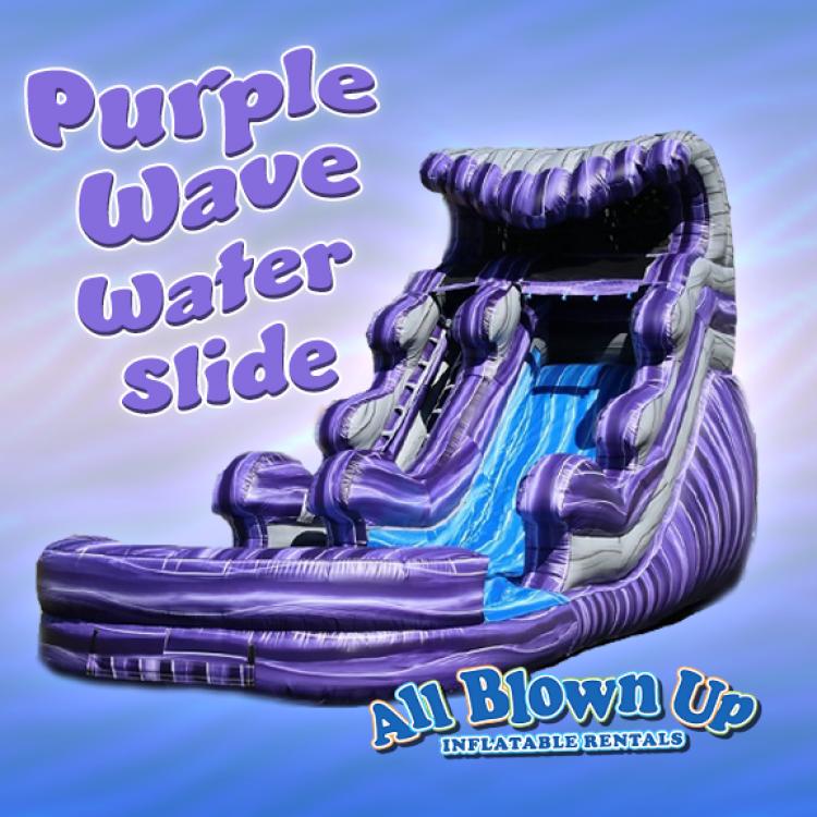 Purple Wave Water Slide