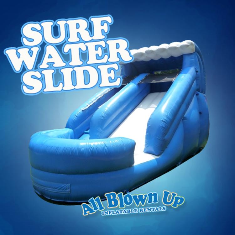 Surf Water Slide