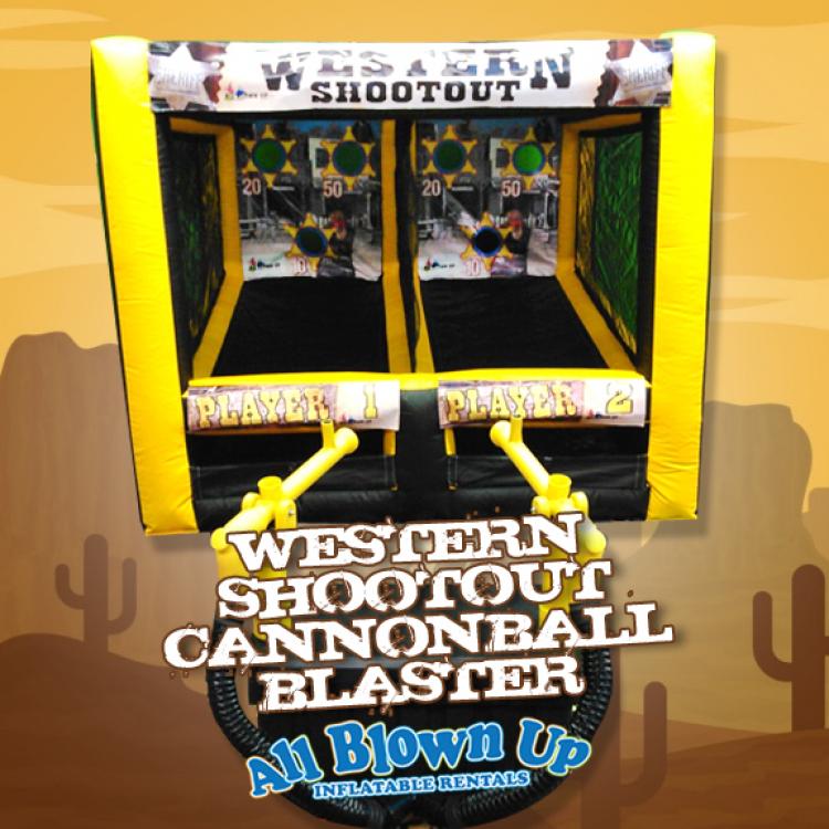 Western Shootout Cannonball Blaster