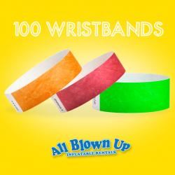100 Wristbands