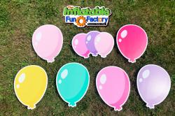 Balloons - Pastel