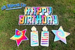 Birthday Tie Dye