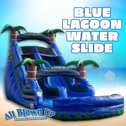 Blue Lagoon Water Slide