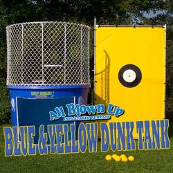 Blue & Yellow Dunk Tank