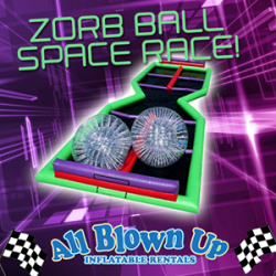 Zorb Ball Space Race