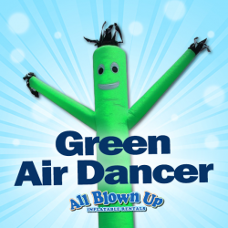 Green Air Dancer