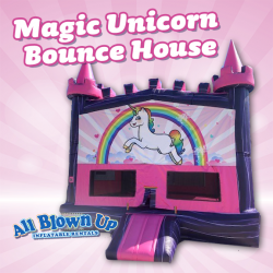 Magic Unicorn Bounce House