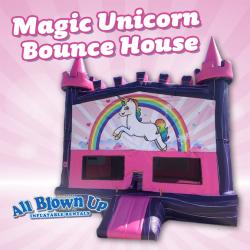 Magic Unicorn Bounce House