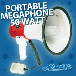 Portable Megaphone 50 Watt