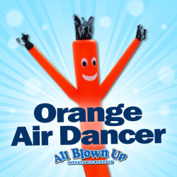 Orange Air Dancer
