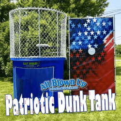 Patriotic Dunk Tank