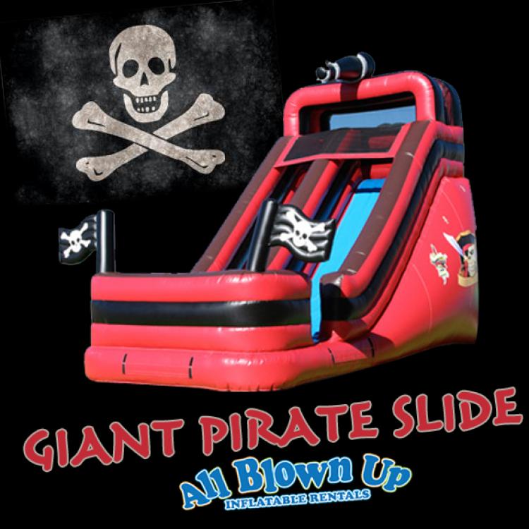 Giant Pirate Slide