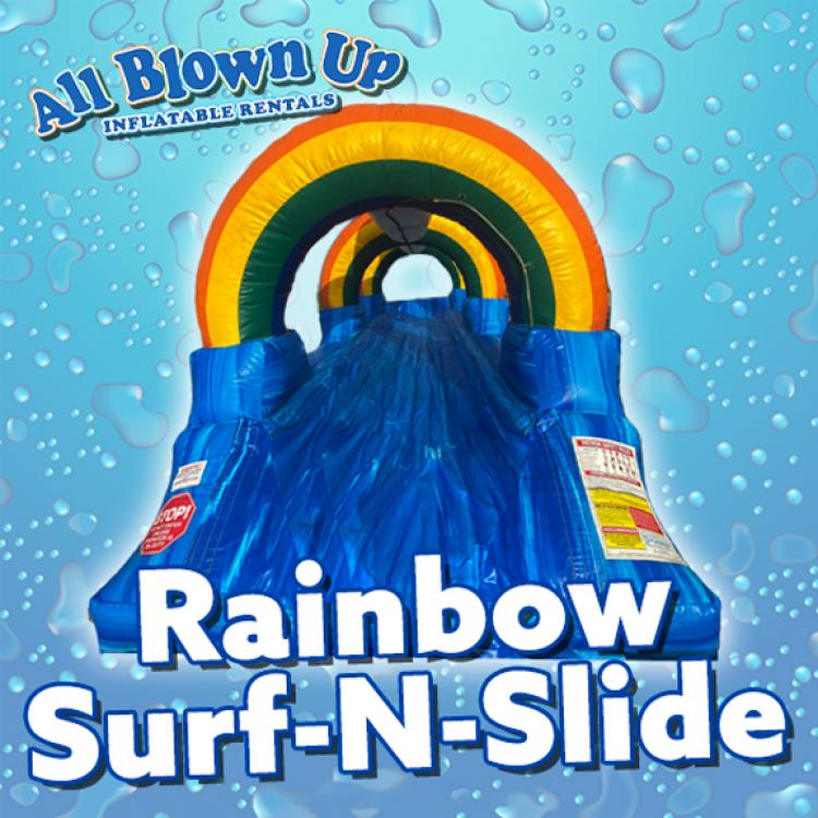 Rainbow Surf-N-Slide