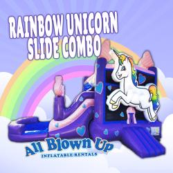Rainbow Unicorn Slide Combo
