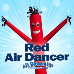 Red Air Dancer