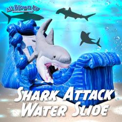 Shark Attack Water Slide