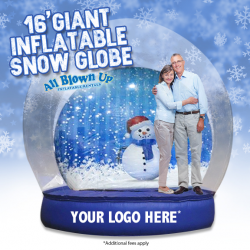 16' Giant Inflatable Snow Globe