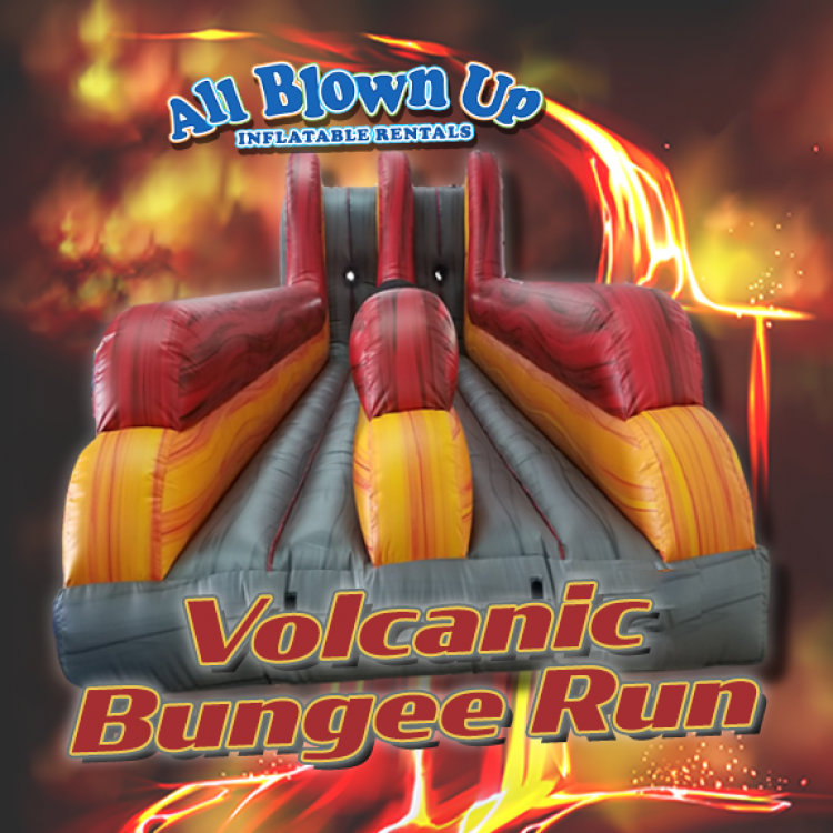 Volcanic Bungee Run