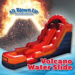Volcano Water Slide