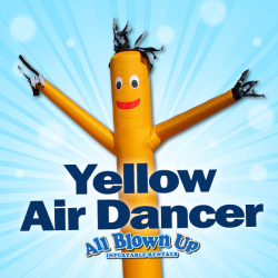 Yellow Air Dancer