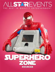 Superhero Zone Bouncer