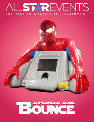 Superhero Zone Bouncer
