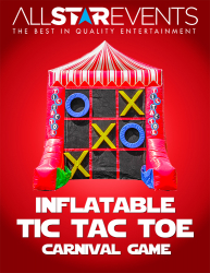 Tic Tac Toe - Inflatable