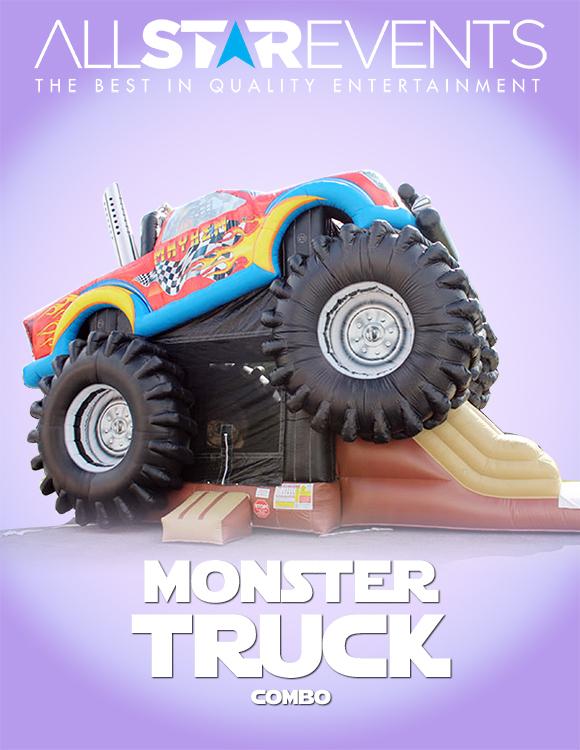 Monster Truck 3-in-1 Combo