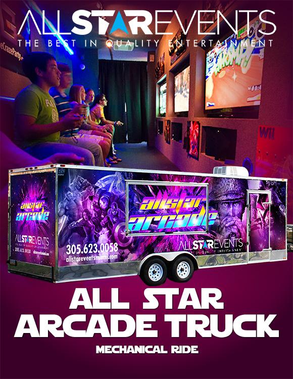 All Star Arcade Truck