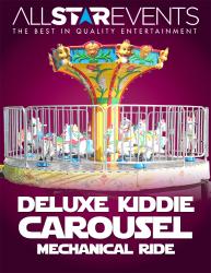 Deluxe Kiddie Carousel