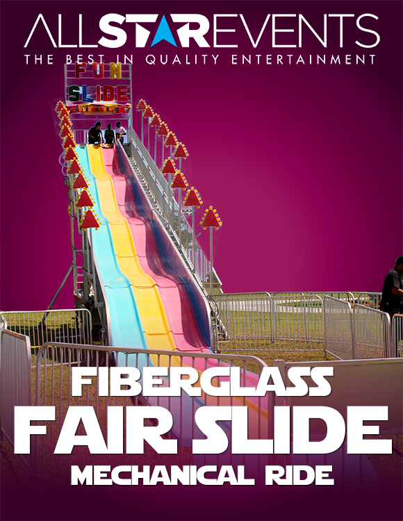 Fiberglass Fair Slide