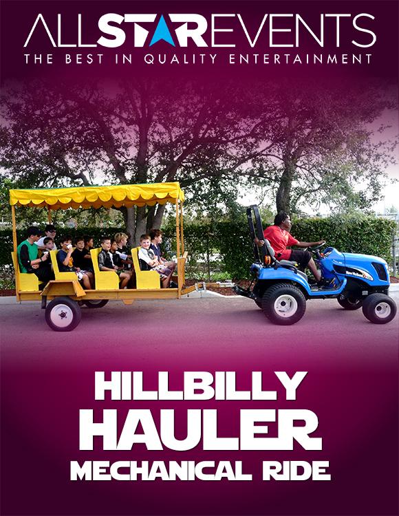 Hillbilly Hauler Hay Ride