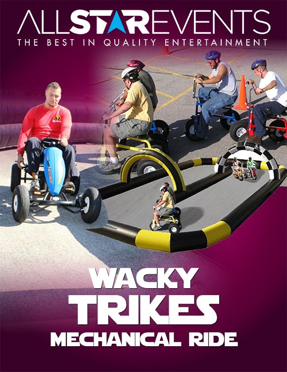 Wacky Trikes w/ 2 Trikes