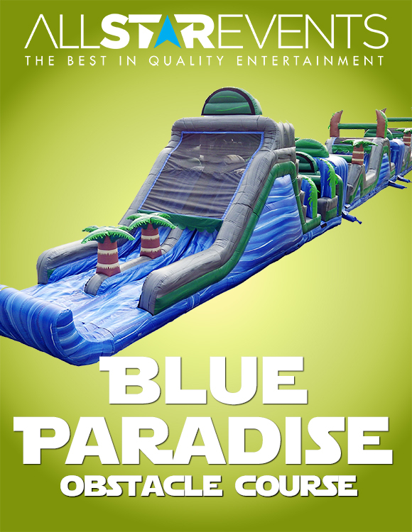 Blue Paradise Obstacle Course