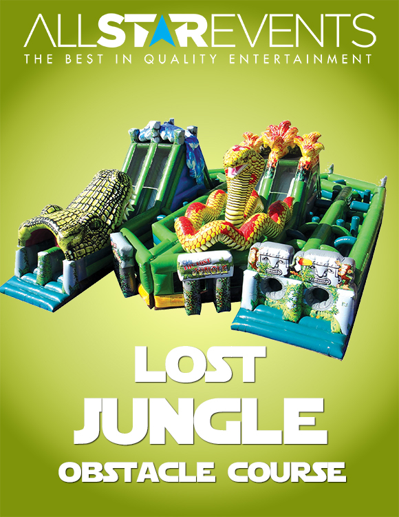 Lost Jungle Obstacle Course